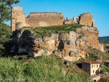 Vista trasera del Castillo de Zorita de los Canes