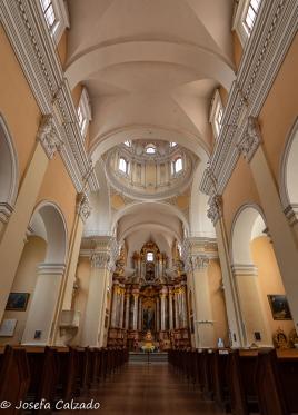 Interior de la Iglesia de San Casimiro