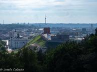 Muralla y Torre de Gediminas