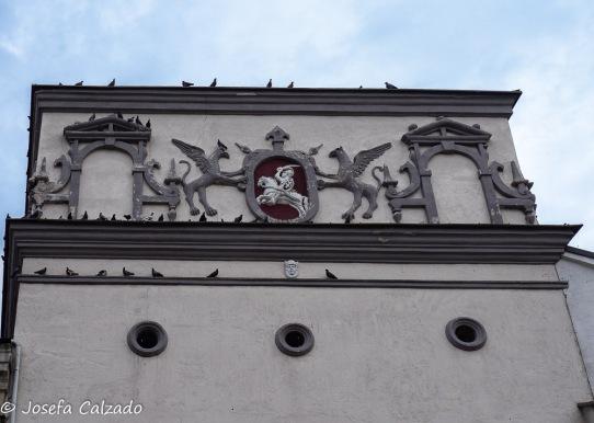 Detalle del ático renacentista