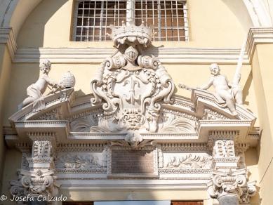Detalle portico