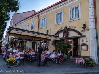 Disfrutando de Vilnius