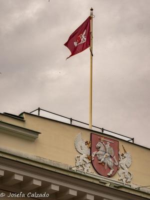 Escudo de Vilnius y bandera