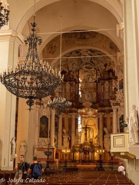Interior de la Iglesia de San Juan