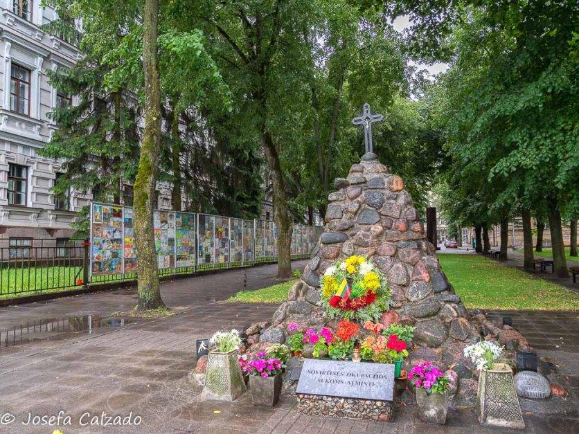 Caídos en la ocupación soviética