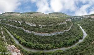 Panorámica de la hoz del Ebro
