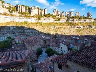 Panorámica de Orbaneja del Castillo