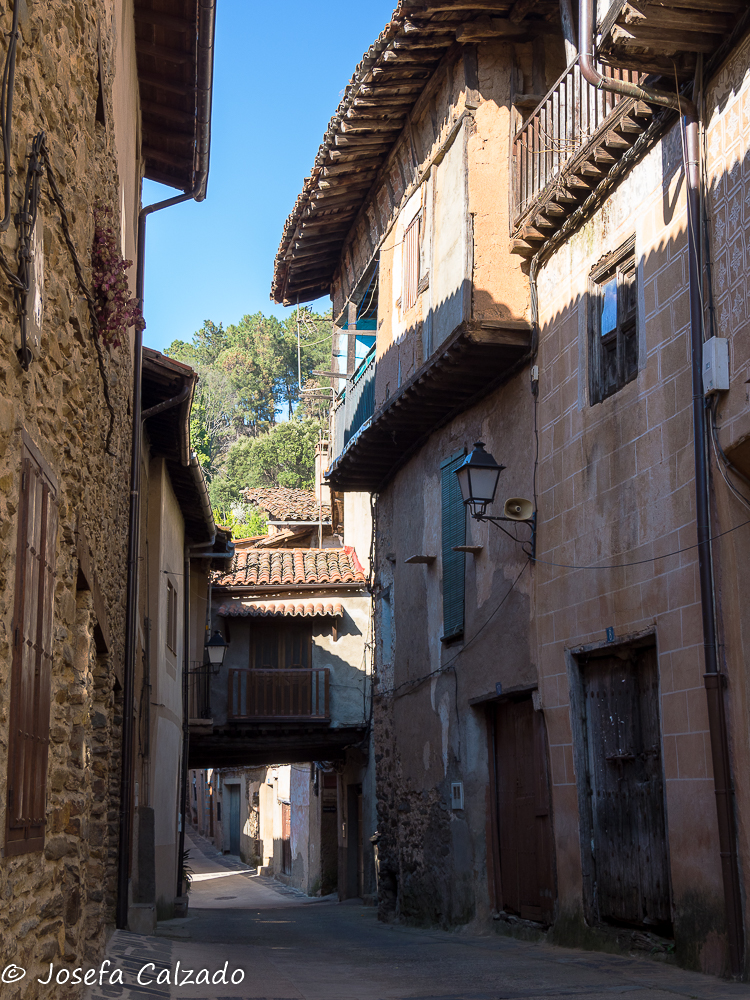 Una calle de Granadilla