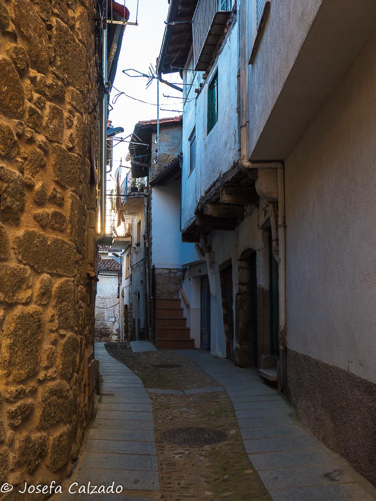 Una calle de Gata