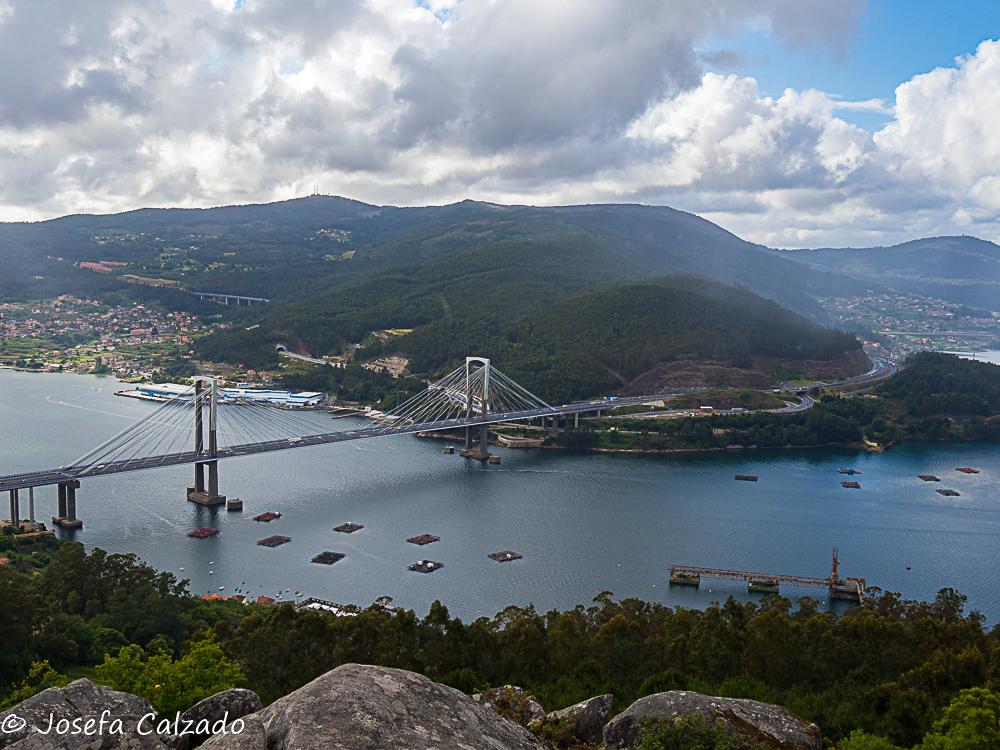 Ría de Vigo y Puente de Rande