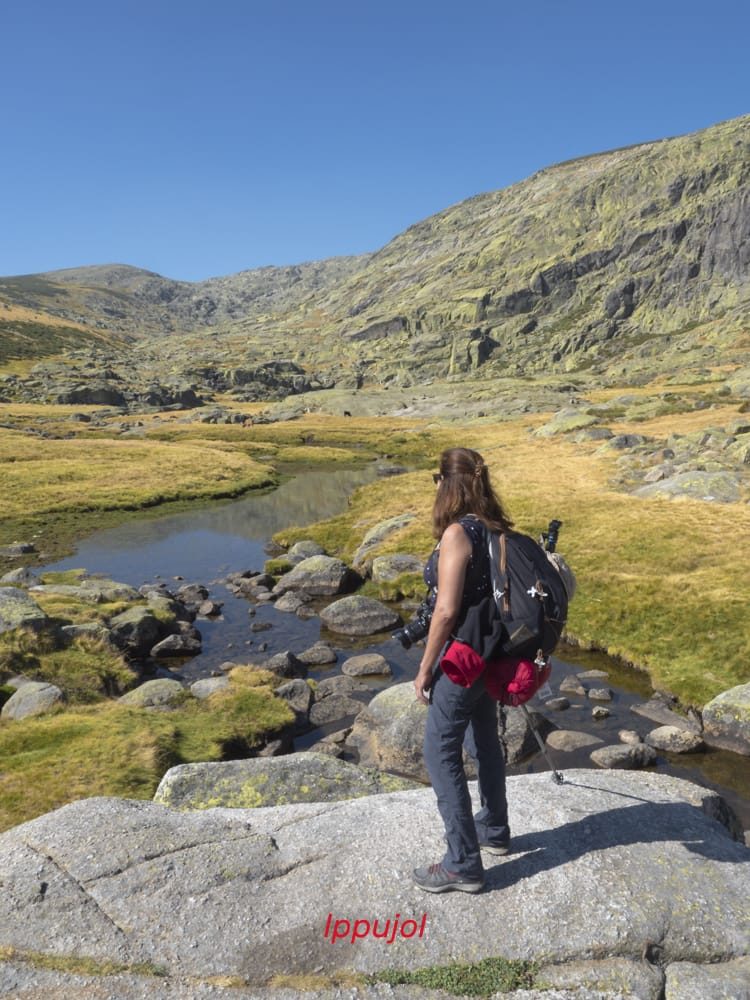 Admirando el paisaje