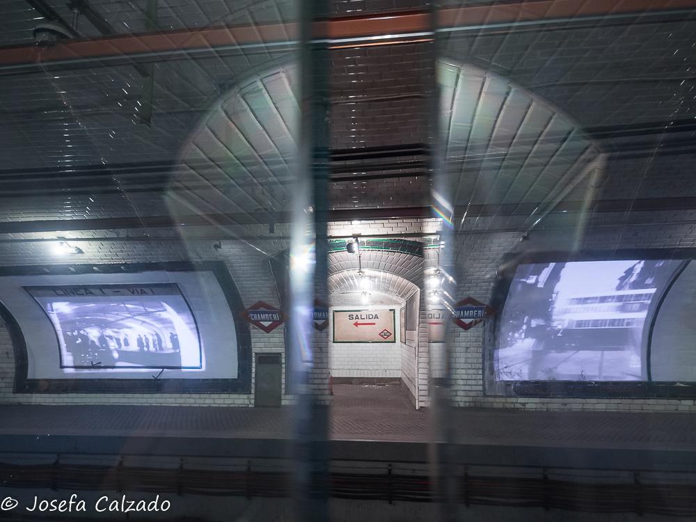 A través del vagón