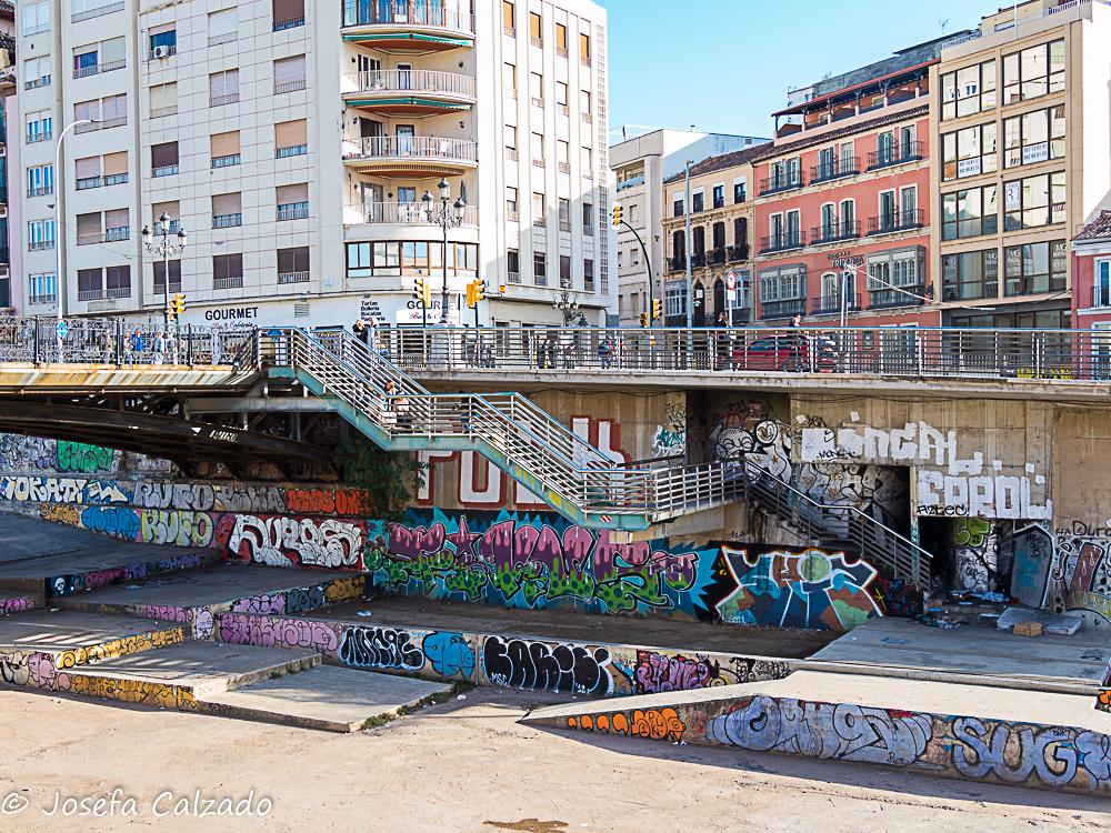 Curso del río Guadalmedina