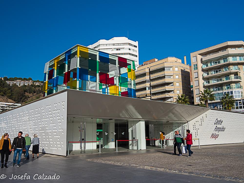 Entrada al Centre Pompidou