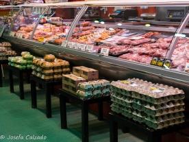 Mostrador carne y pollo
