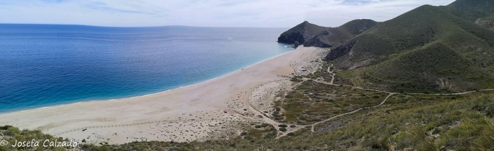 Panorámica playa de los Muertos