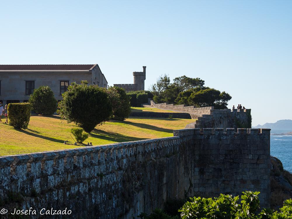 Detalle de las murallas