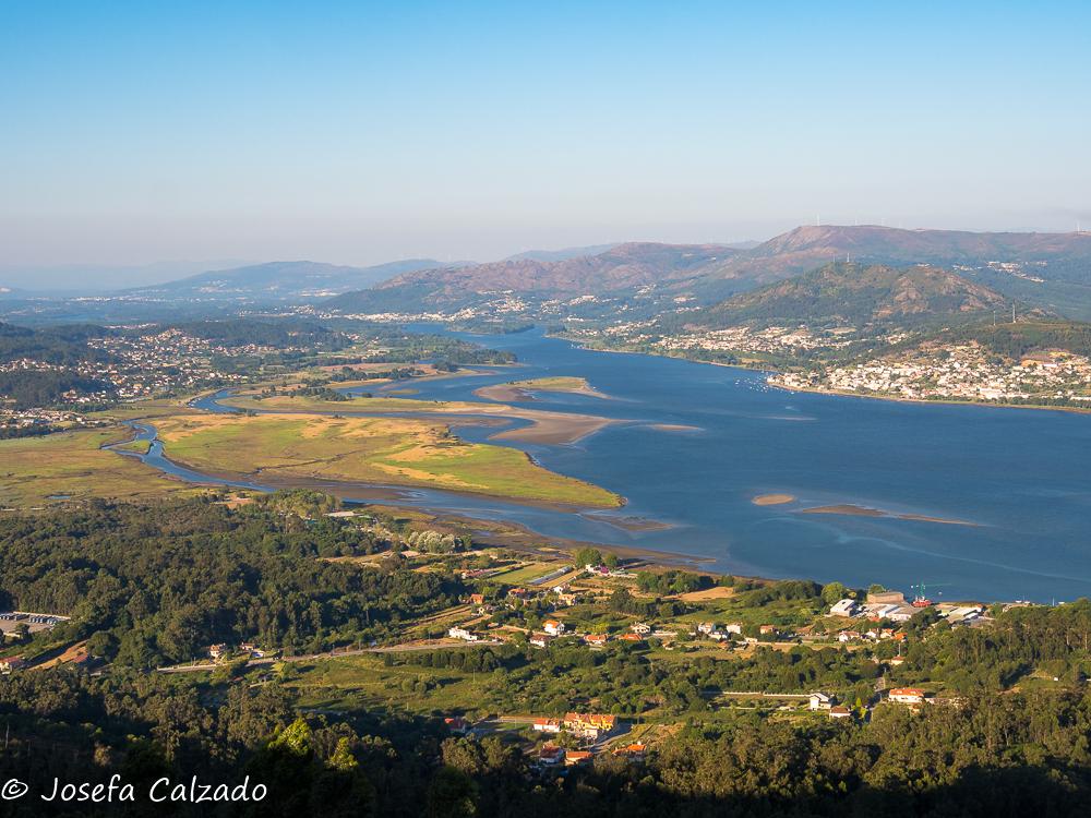 Desembocadura del Rio Miño