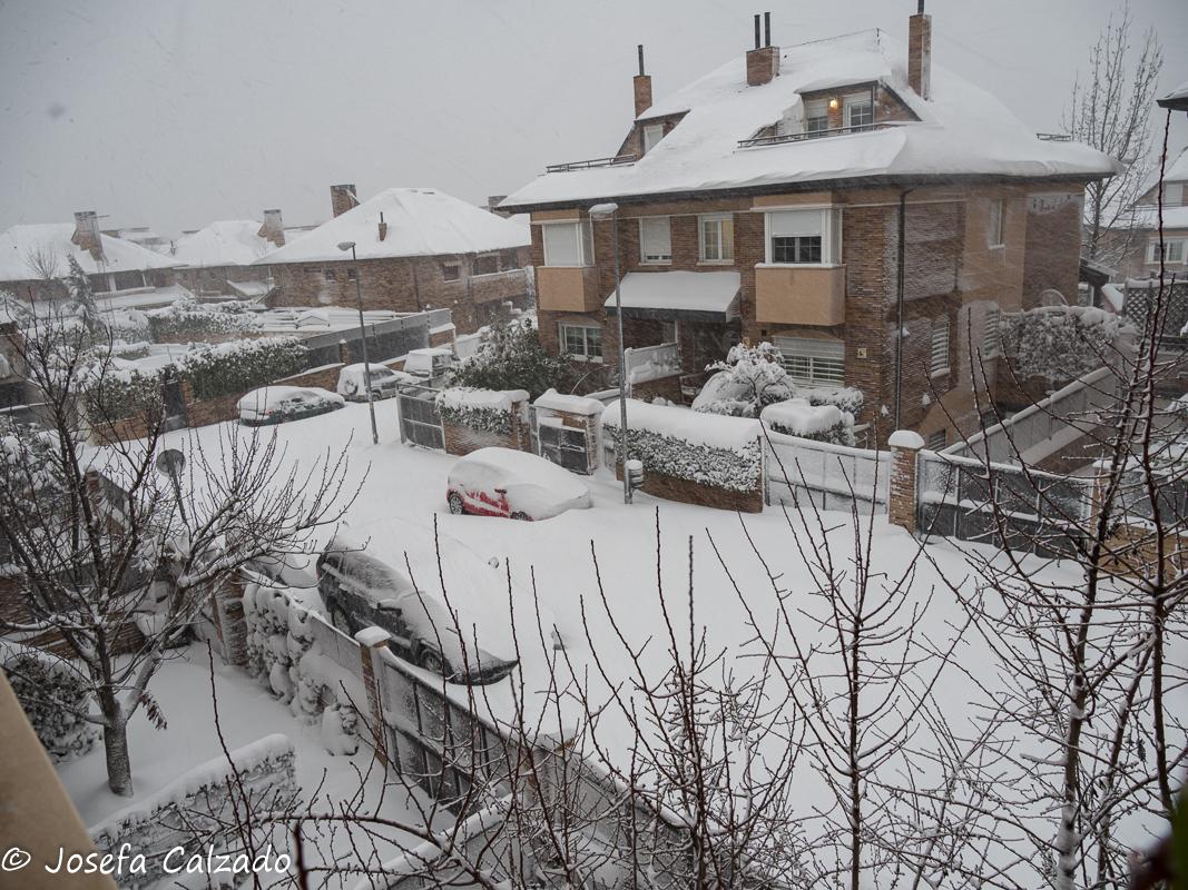 24 horas de nevada
